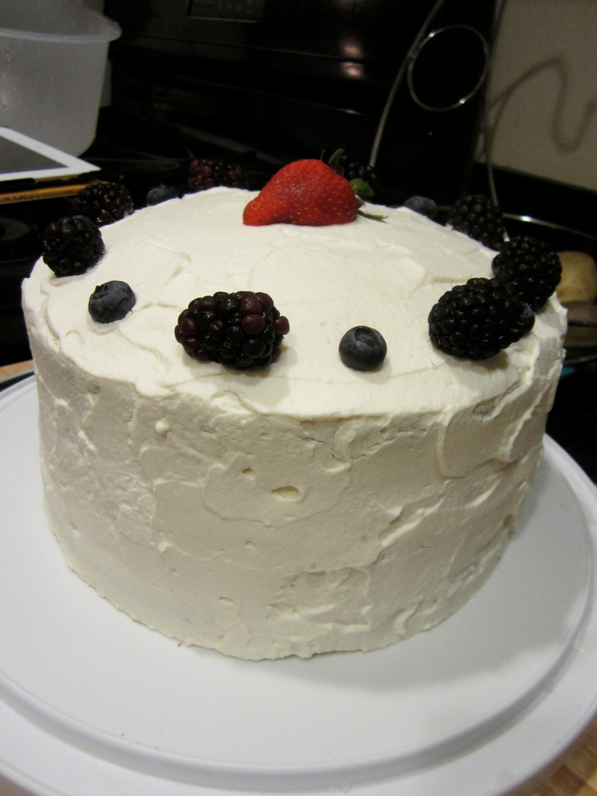 Berry Birthday Cake