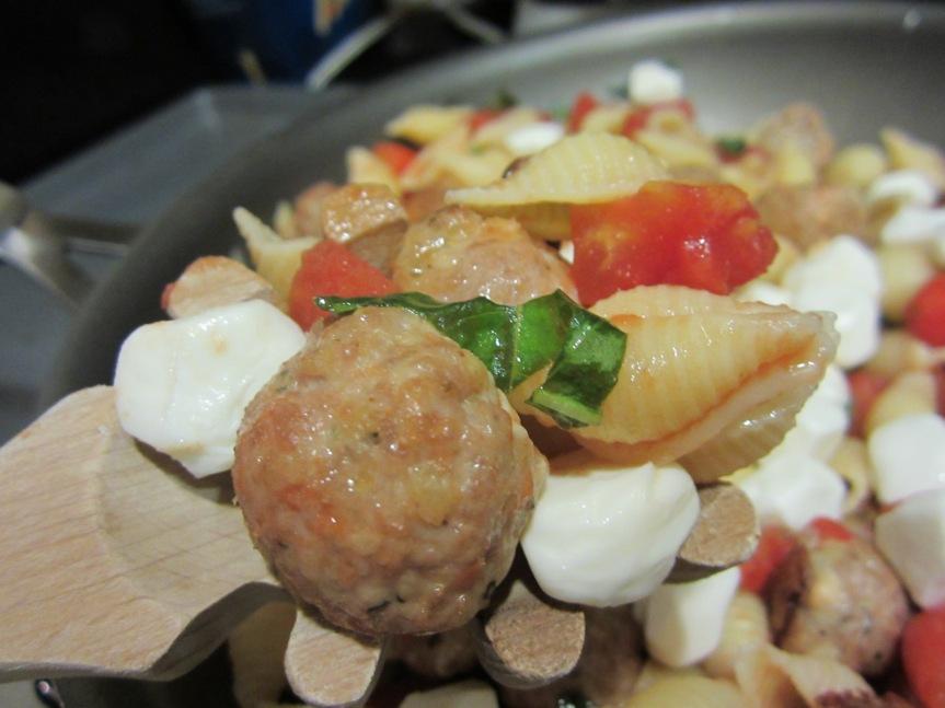 Week 22: Turkey Meatball & CapresePasta
