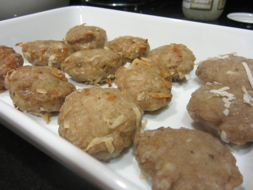 Coconut Turkey Nuggets