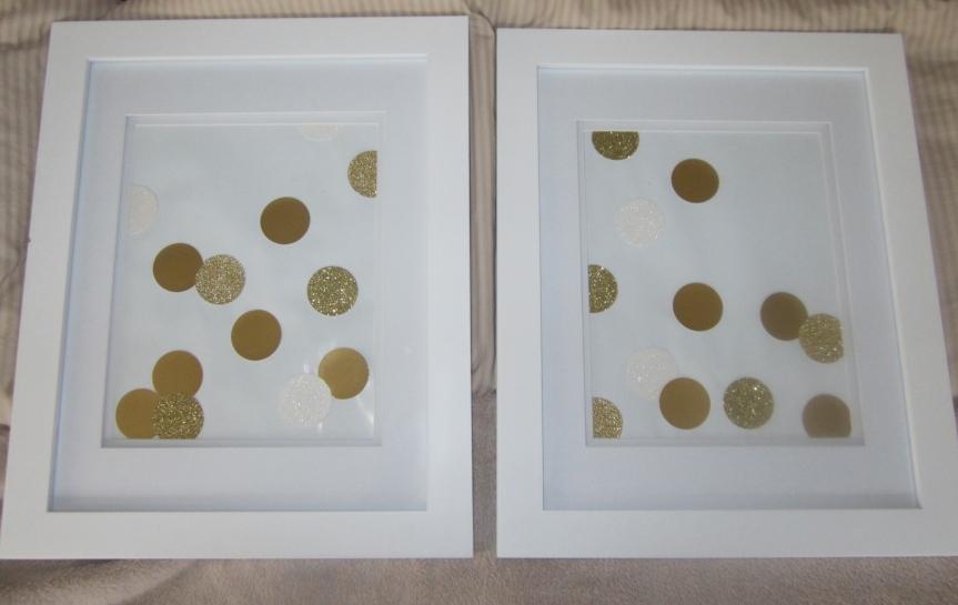 DIY Confetti Art
