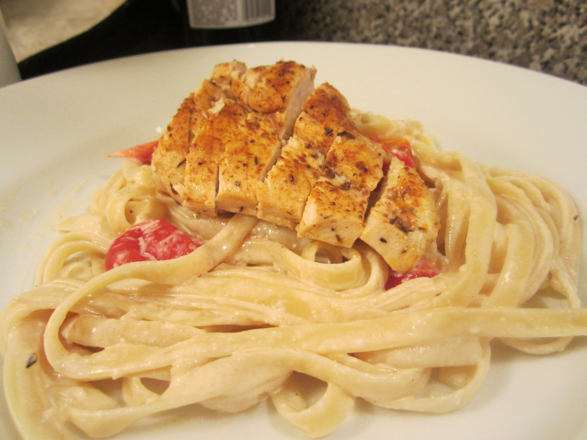Week 28: Cajun Chicken Fettucine Alfredo