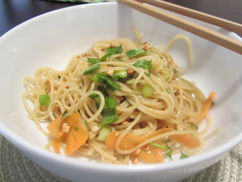 Week 27: Spicy Asian Noodles   bake, broil & blog