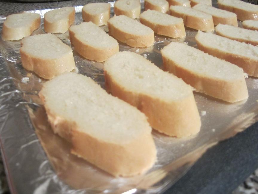 Toasted Bruschetta
