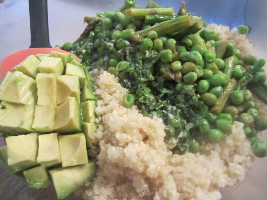 Asparagus & Avocado Quinoa Recipe