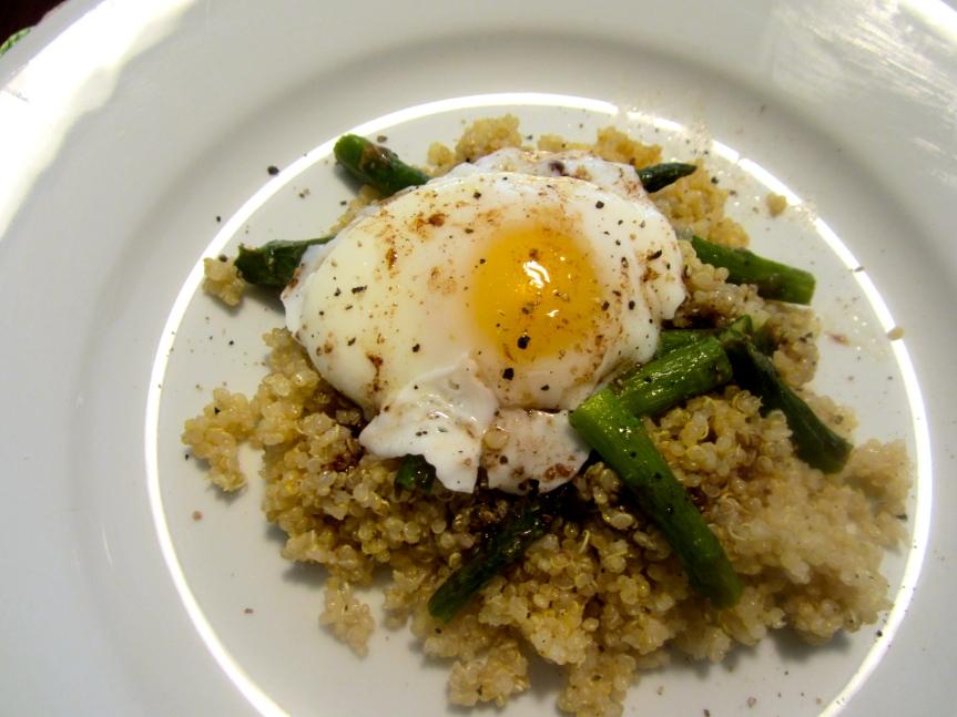 Week 35: Crunchy QuinoaSalad