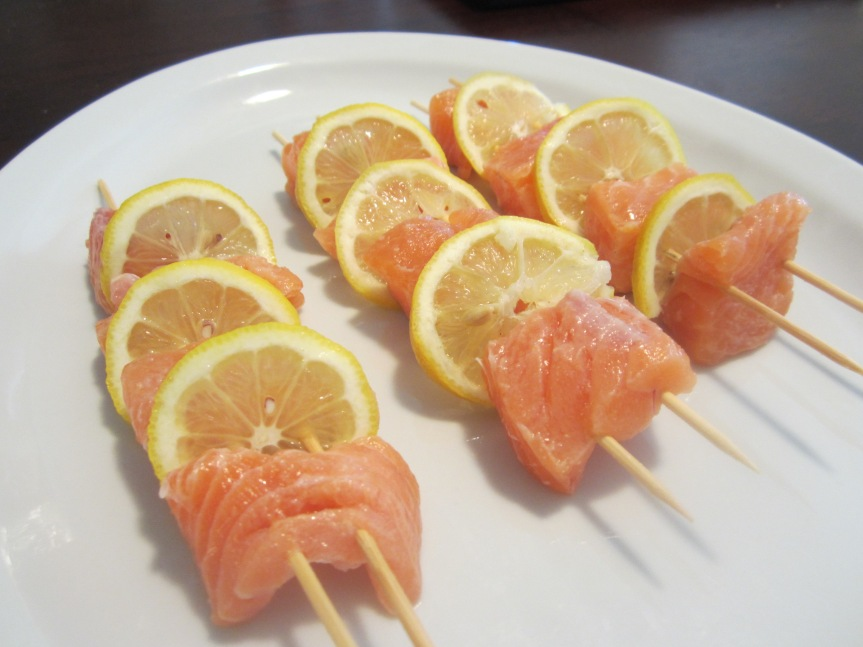 Salmon Kabob