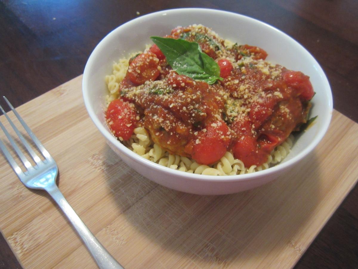 Turkey & Pancetta Meatballs