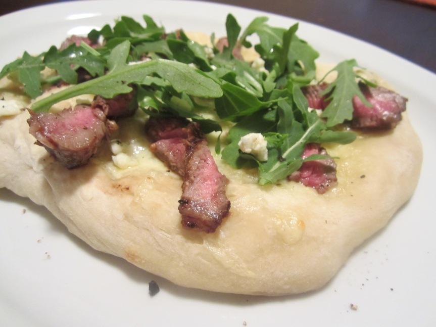Steak & Gorgonzola Pizza Recipe