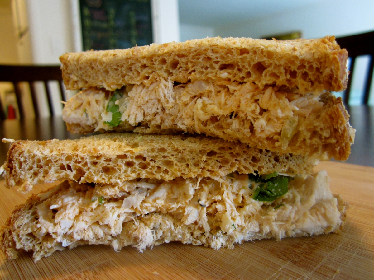 Buffalo Chicken Salad Sandwich