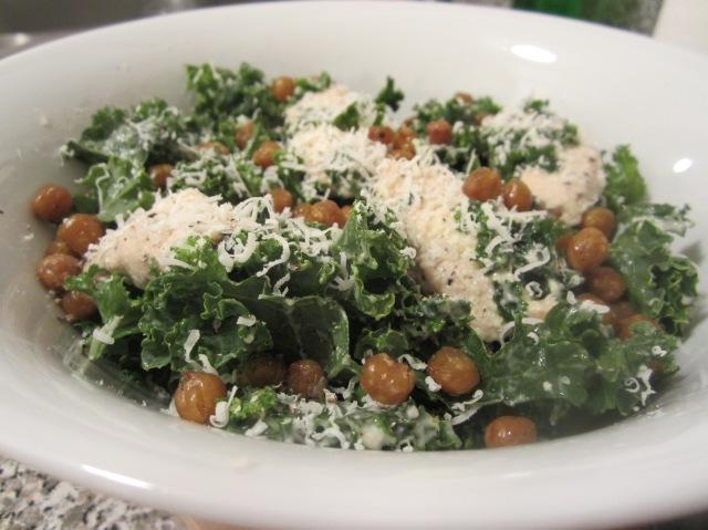 Kale Caeasr Salad
