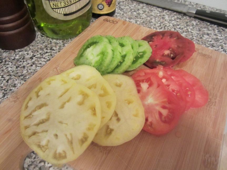 Heirloom Tomato & Burrata Salad