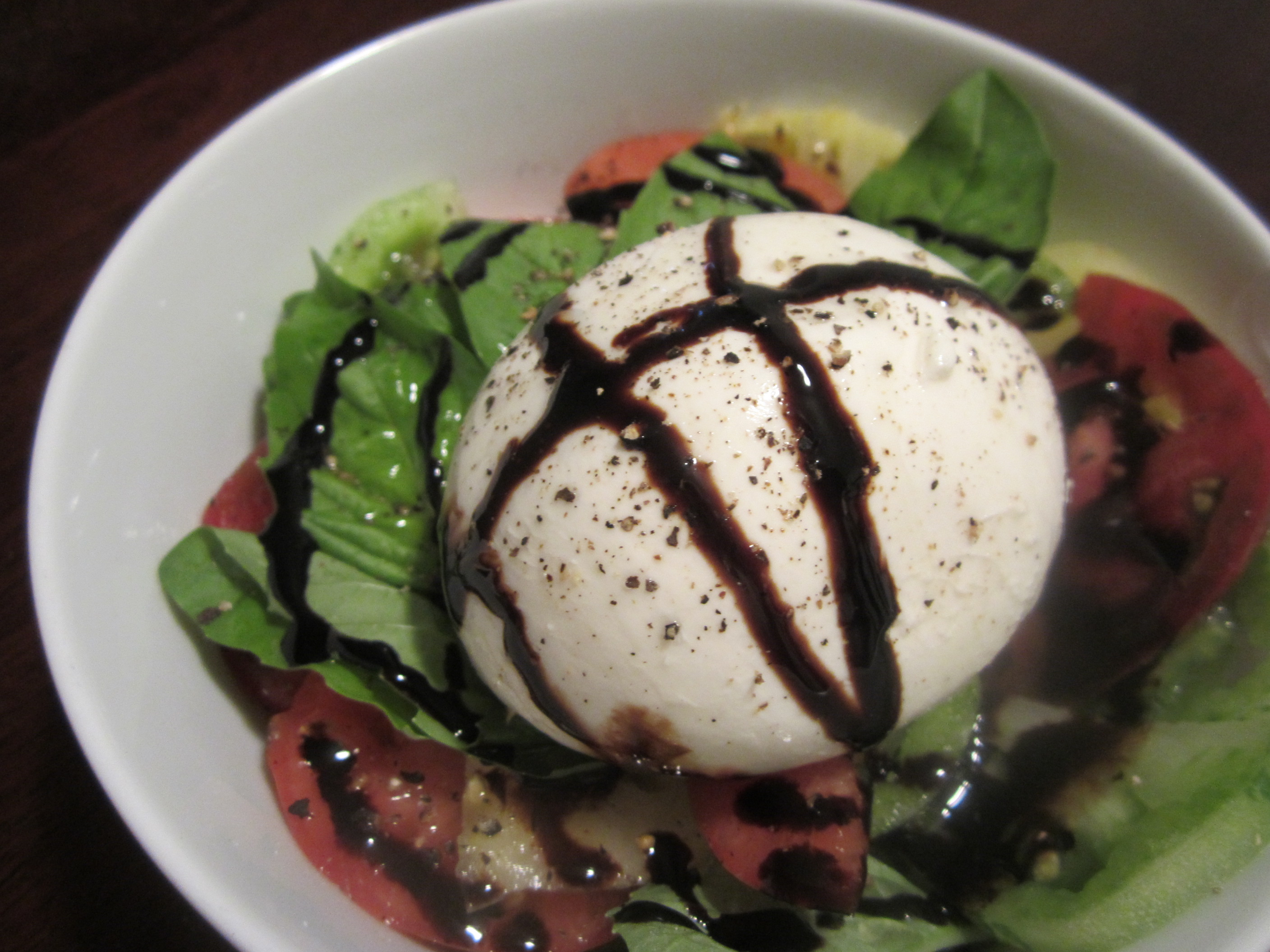 Week 45: Heirloom Tomato & Burrata Salad | bake, broil & blog