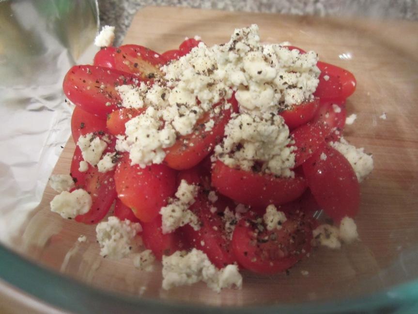Gorgonzola Tomatoes