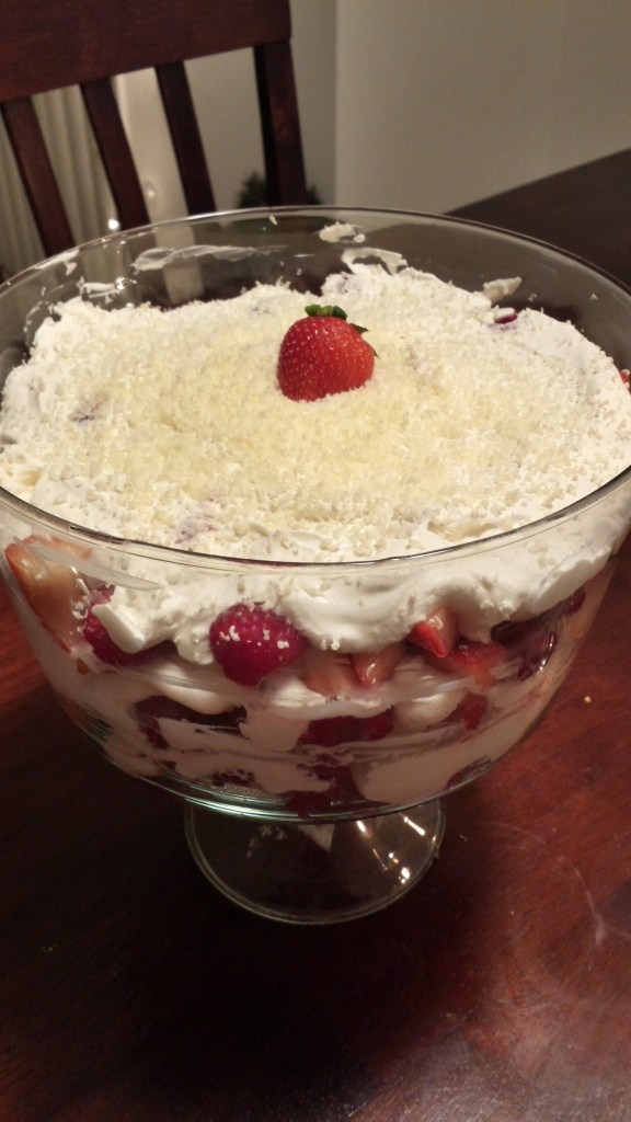 Merry Berry Trifle