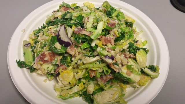 Bacon & Brussels Sprout Salad