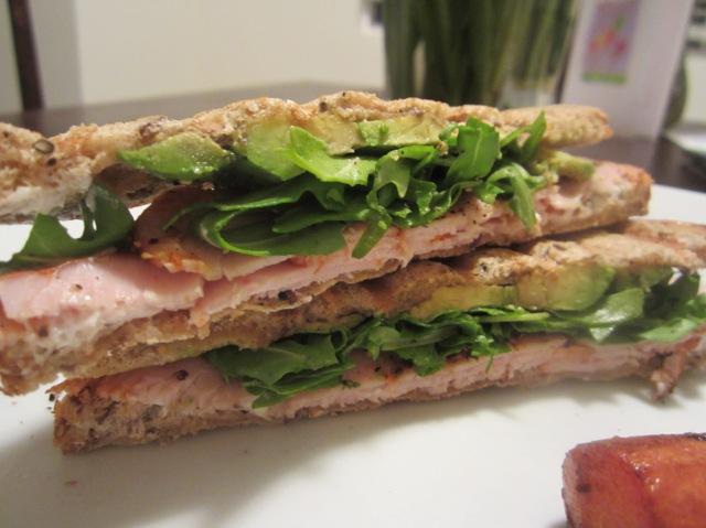 Turkey & Avocado Panini