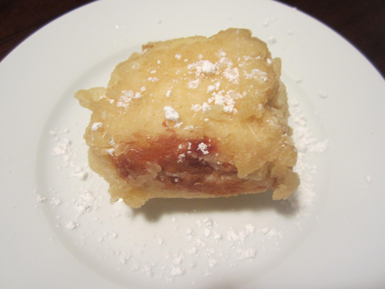 Tempura Fried Ice Cream | bake, broil & blog