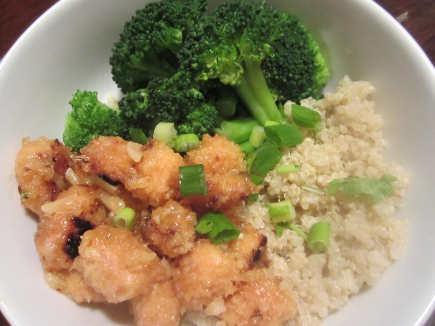 Orange Chicken Quinoa Bowl
