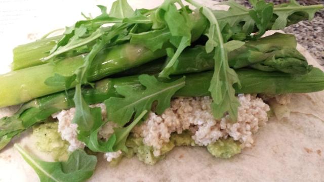Asparagus & Avocado Wrap