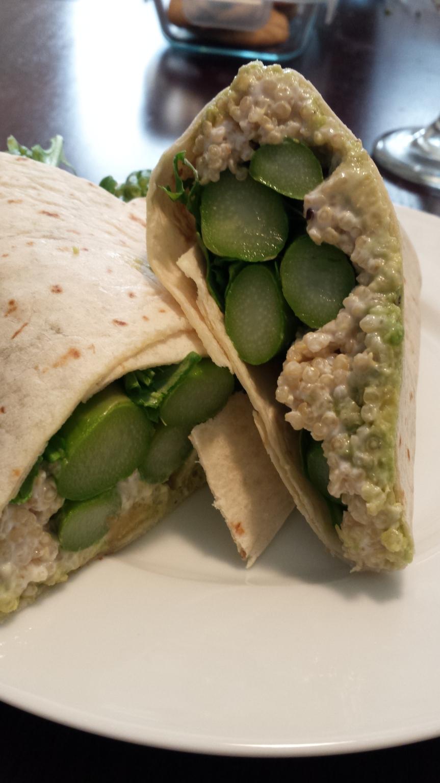 Asparagus & AvocadoWrap