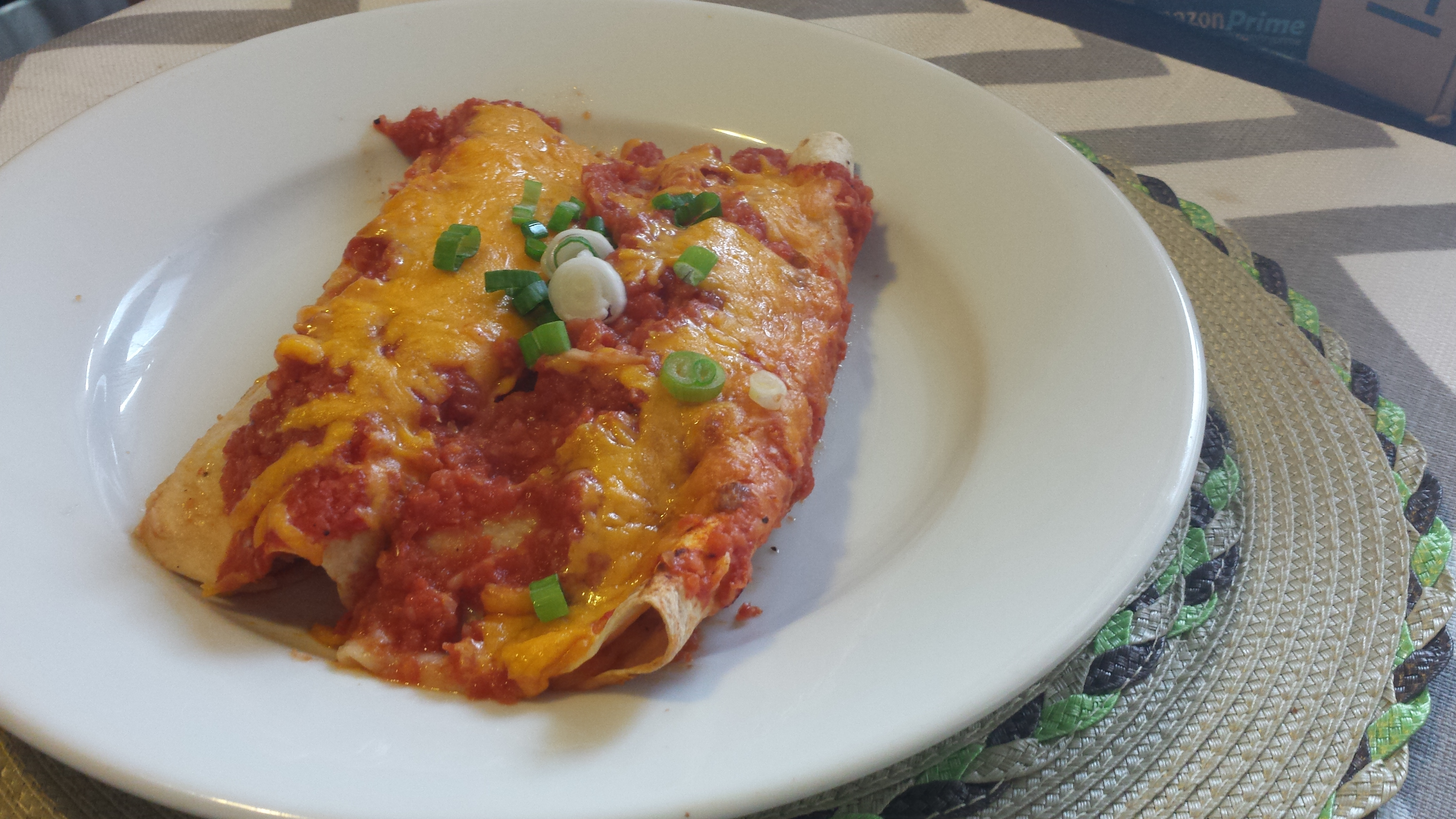 Sweet Potato & Black Bean Enchiladas – Bake Broil and Blog