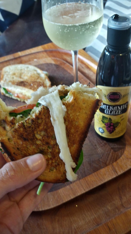 Caprese Grilled CheeseSandwich