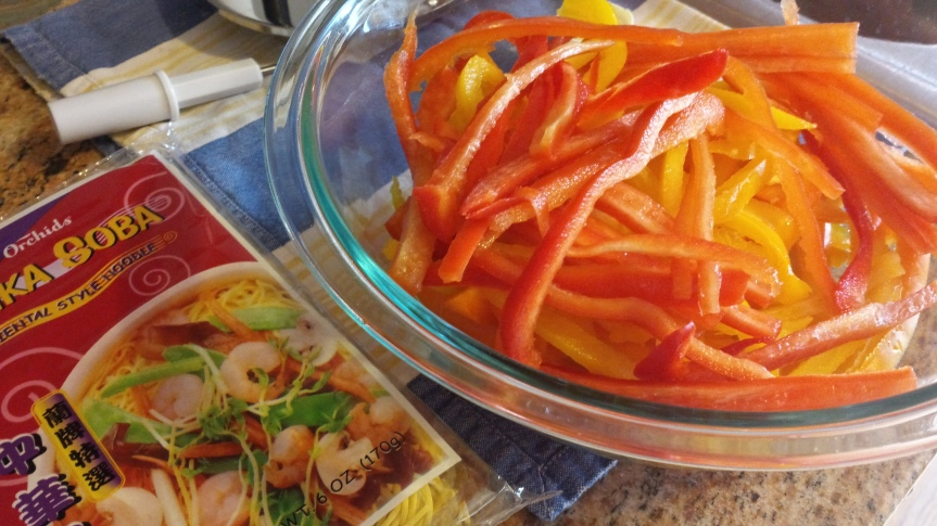 Spicy Peanut Chicken Soba NoodleSalad