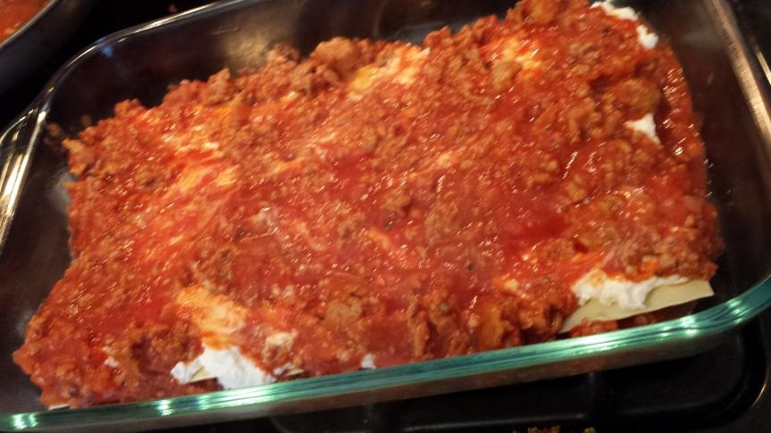 Double Turkey Lasagna