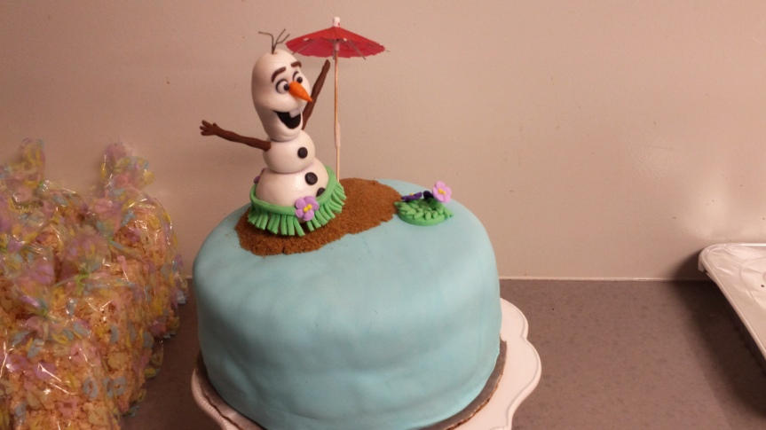 Olaf Summer Dream Cake