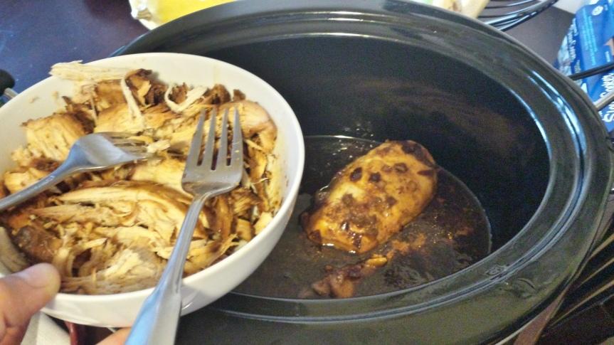 Crockpot Sesame Chicken & Veggie Bowl