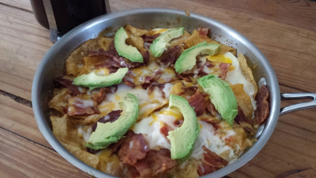 Bacon & Egg Chilaquiles