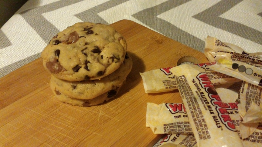 Chocolate Chip Whopper Cookies