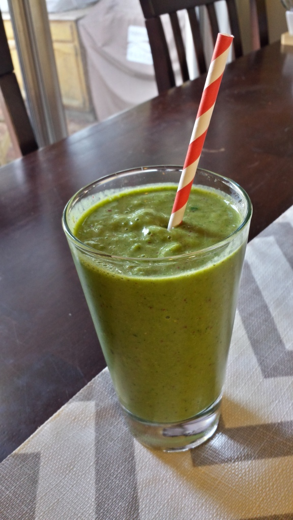 Tropical Green Machine Smoothie