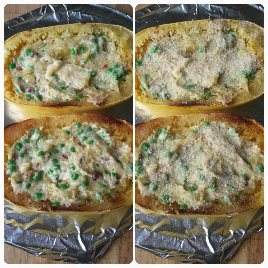 Spaghetti Squash Mac & Cheese