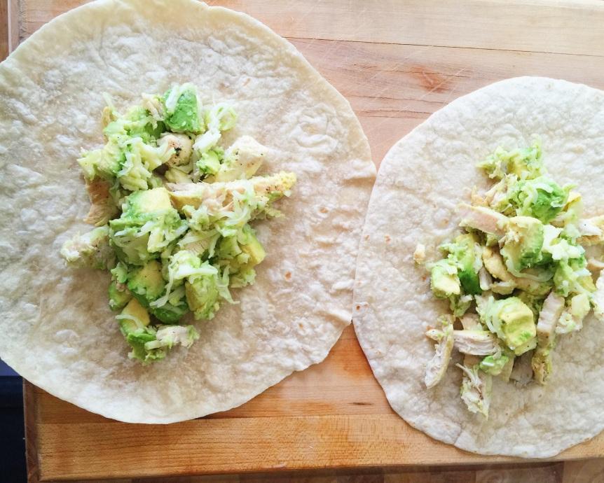 Grilled Chicken & Avocado Burrito