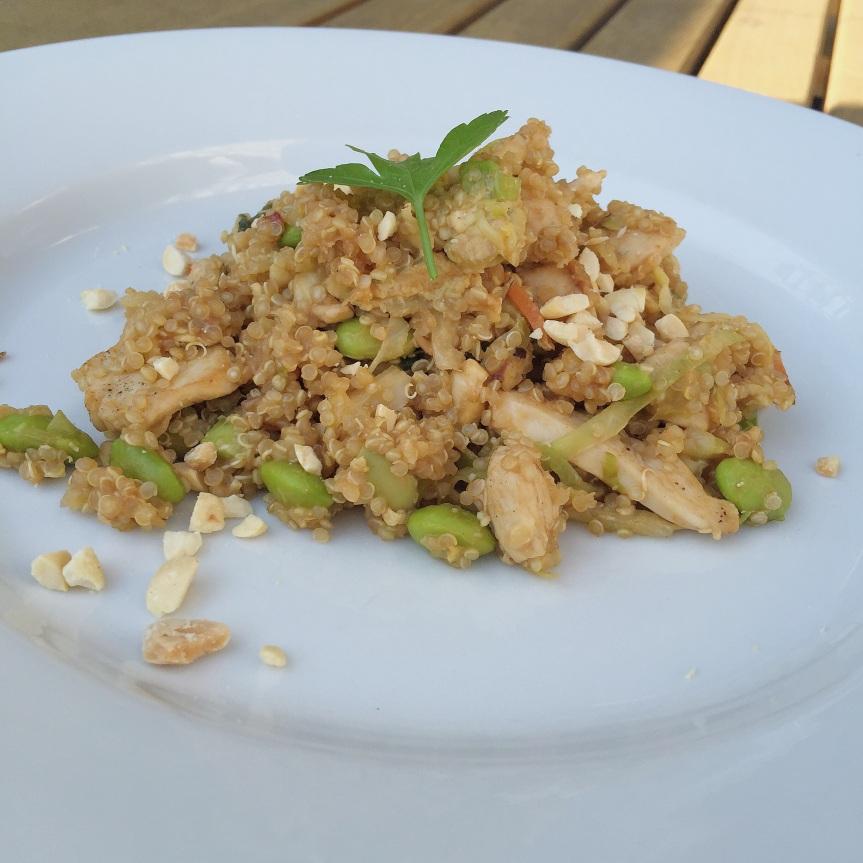 Thai Peanut QuinoaBowl