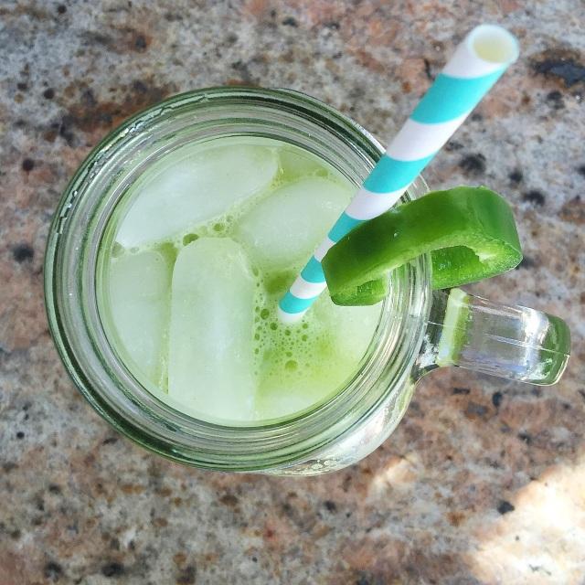 Green Apple & Jalapeno Lemonade
