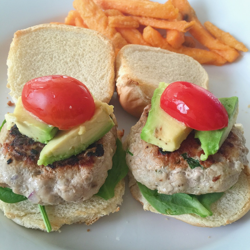 Easy Turkey Burger Sliders