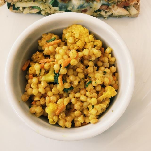 Curry Cauliflower Couscous