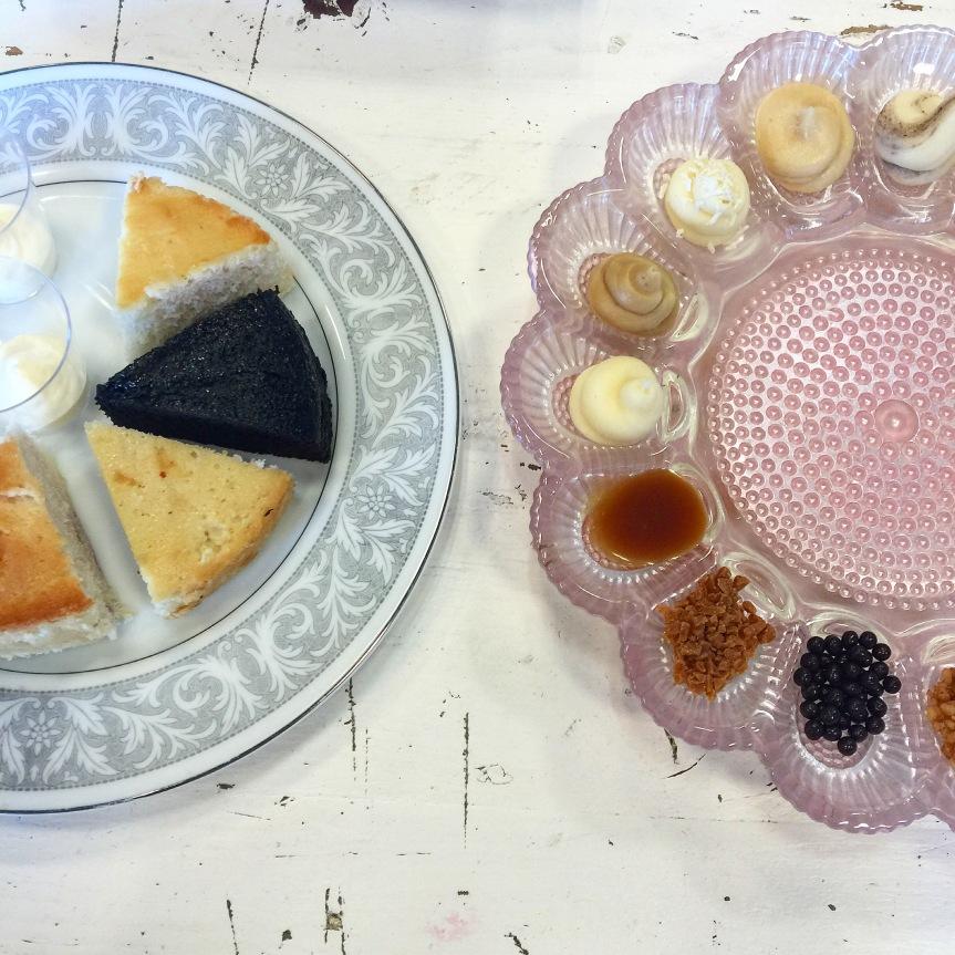 Snapshots: Cake Tasting