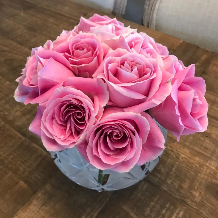 DIY: Circular Vase FlowerArranging